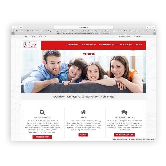 BRW Website Screenshot
