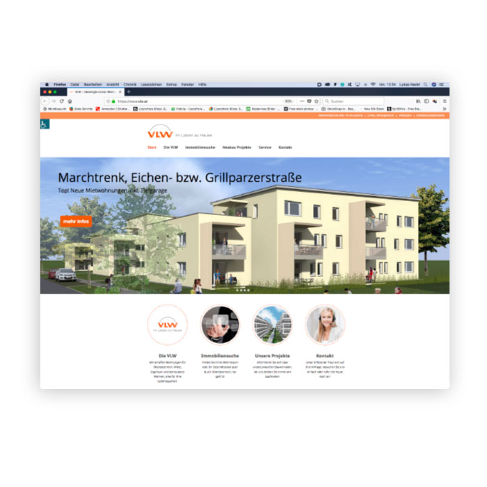 VLW Logo Website Screenshot